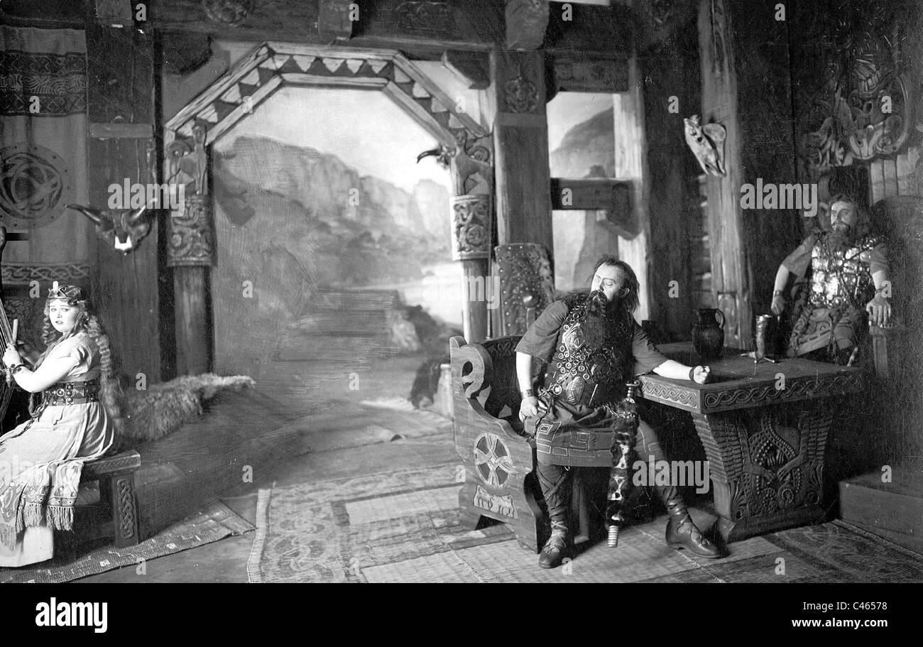 'Twilight of the Gods', 1913 - Stock Image