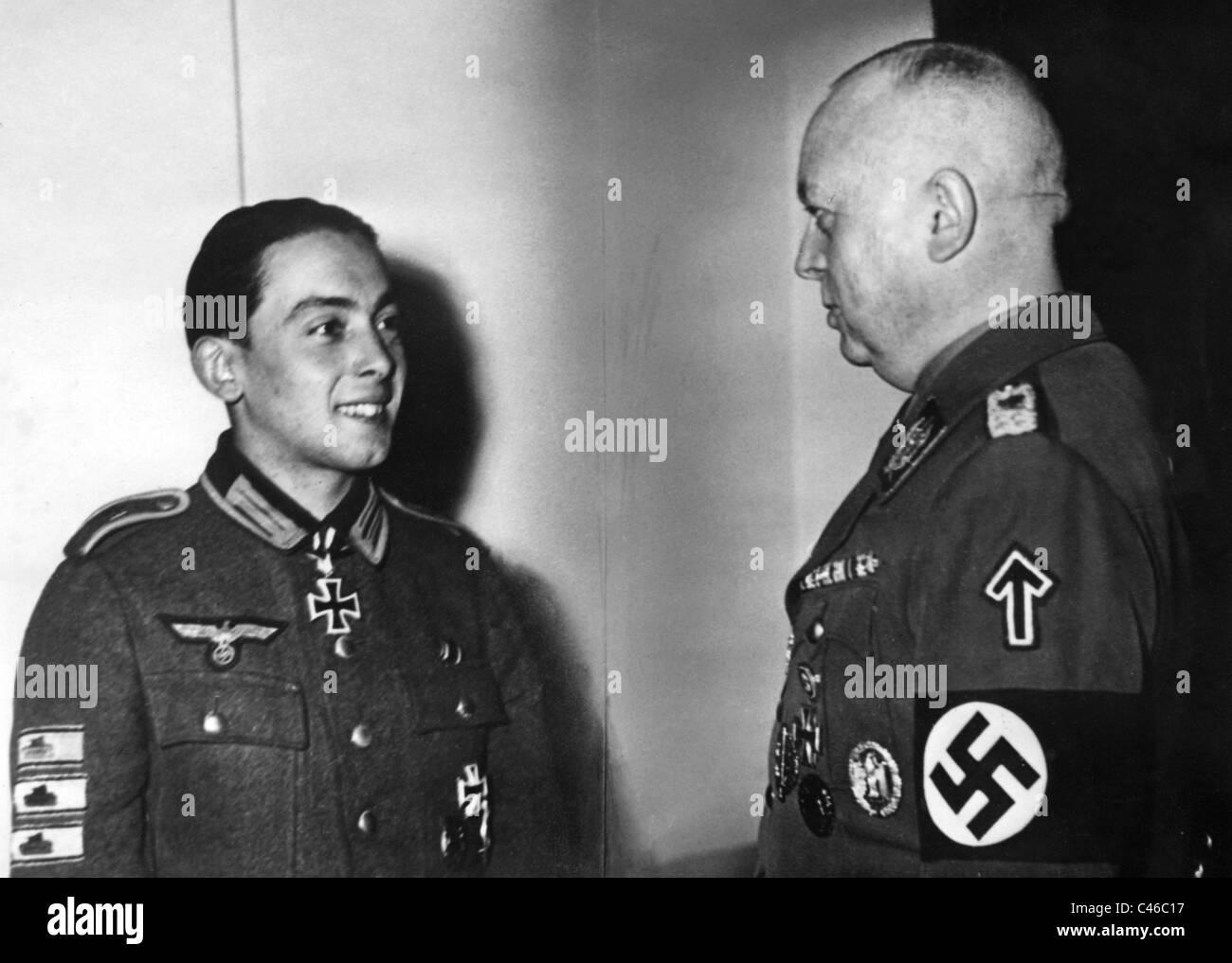 Second World War: Division 'Feldherrnhalle' (SA) - Stock Image