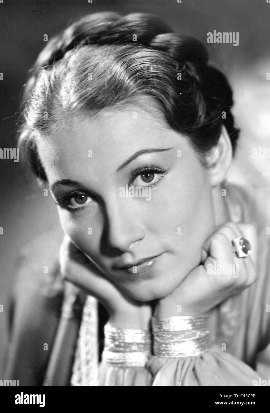 Brigitte Horney in 'Tumult in Damascus', 1939 - Stock Image