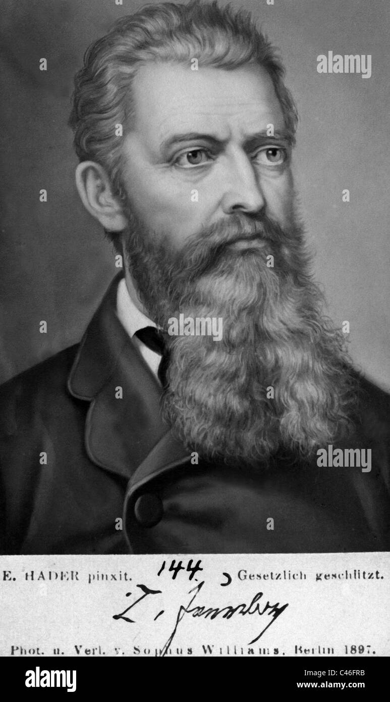 Ludwig Feuerbach, - Stock Image