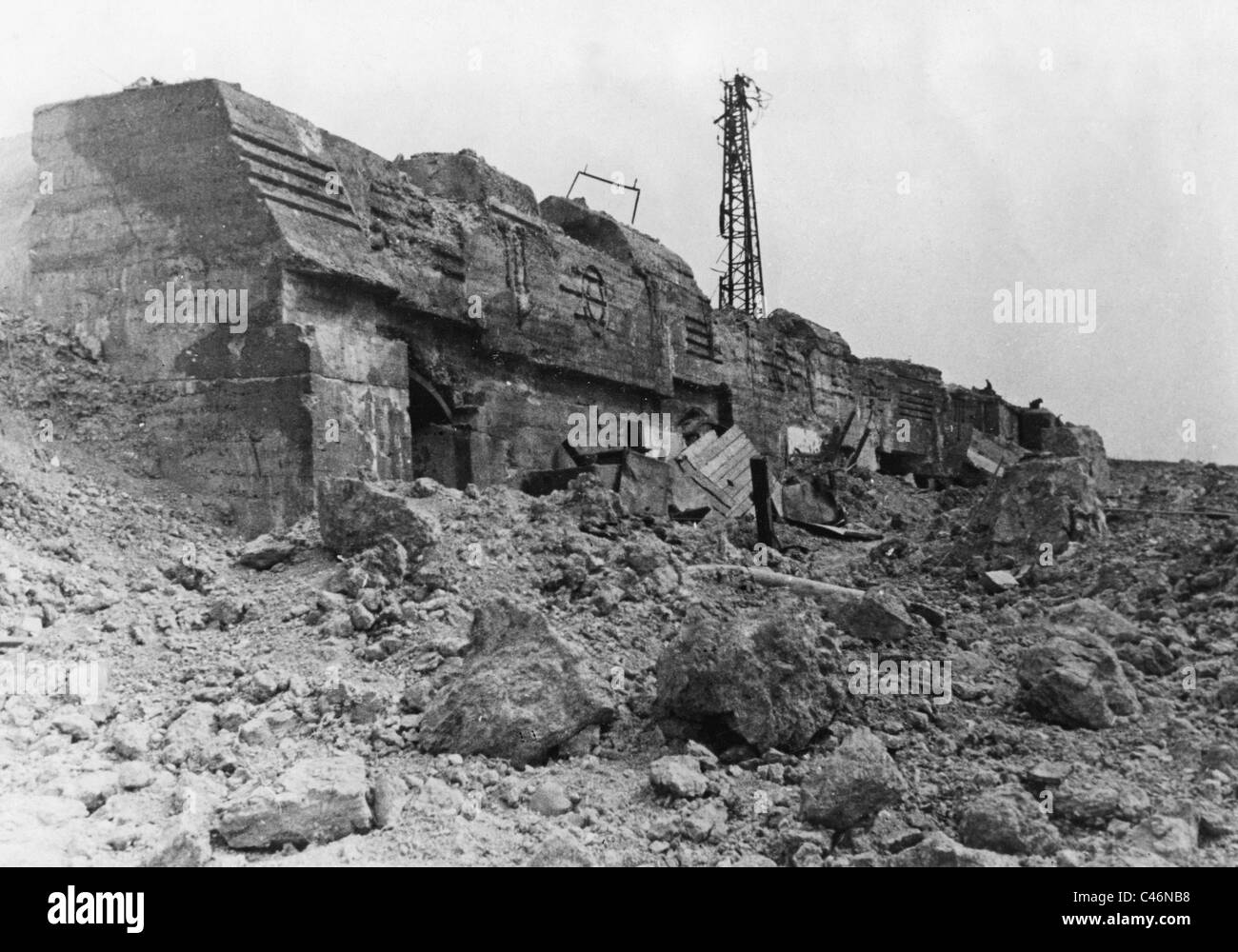 Second World War: Eastern Front. Siege of Sevastopol, 7th June-4th July, 1942 - Stock Image