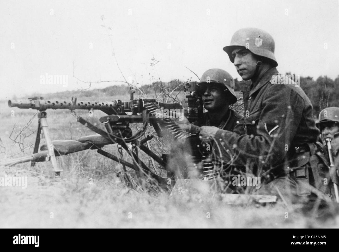 Second World War: The German Wehrmacht on Crimea 1941 - 1942 - Feodosiya, Simferopol, Kerch - Stock Image