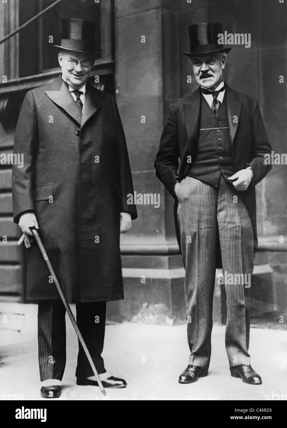 Ramsay MacDonald, - Stock Image