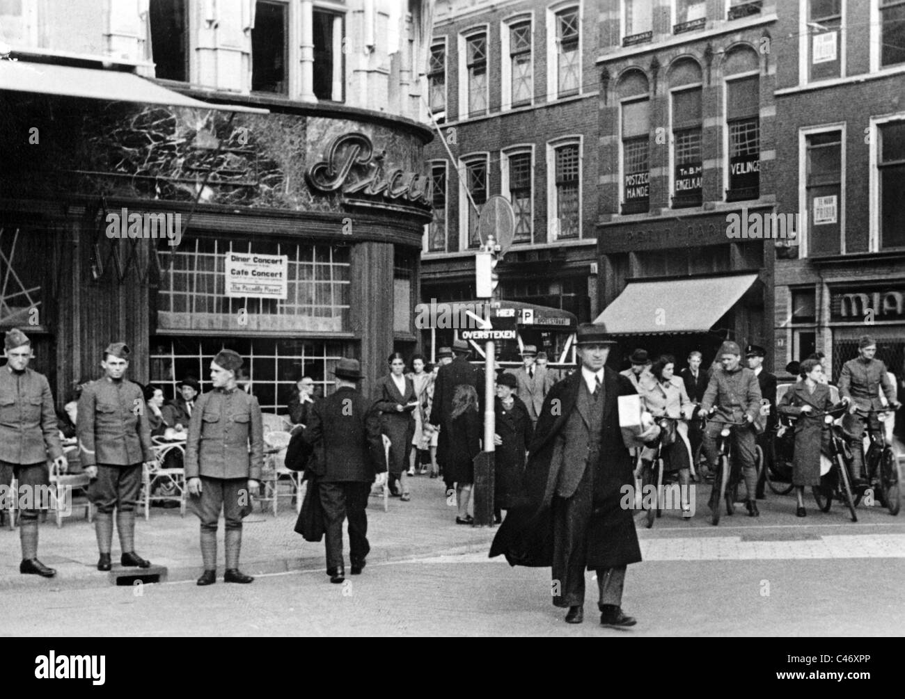 Second World War: Western Front. The Netherlands under German occupation, 1940 - 1944 Stock Photo