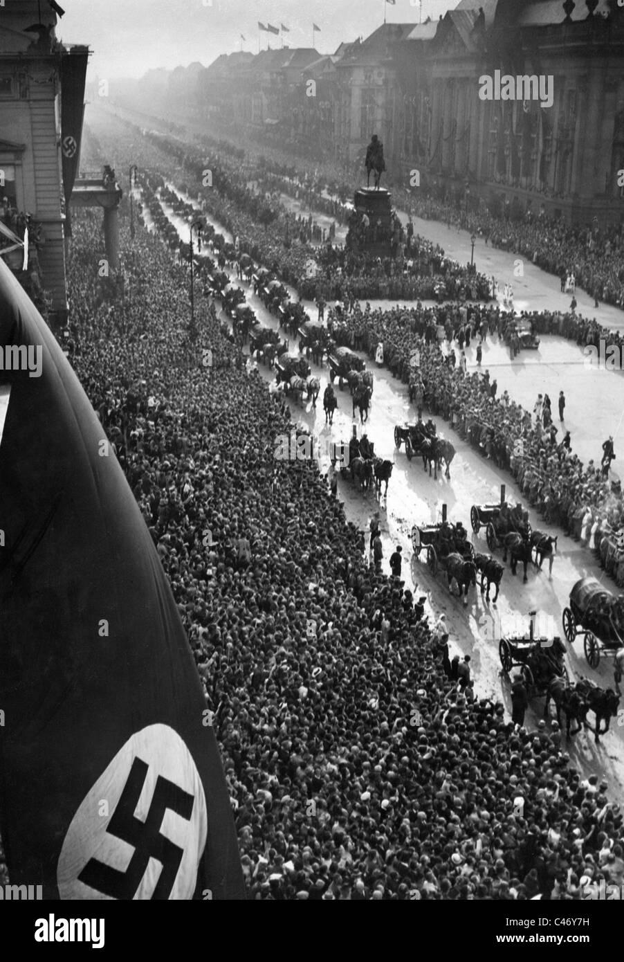 Second World War Victory Parade In Berlin And Other German