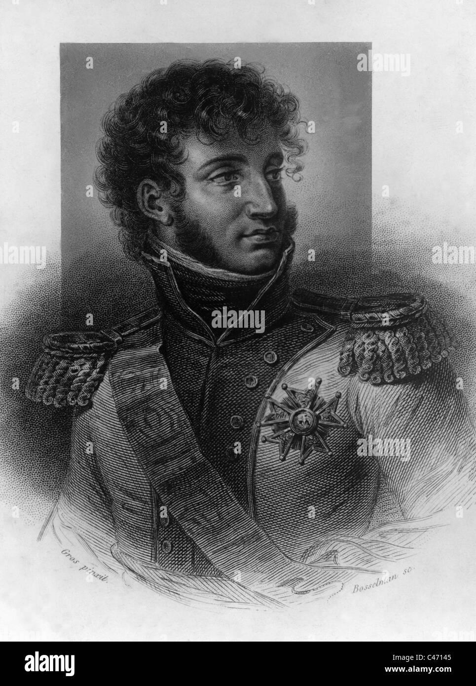 Joachim Murat, - Stock Image