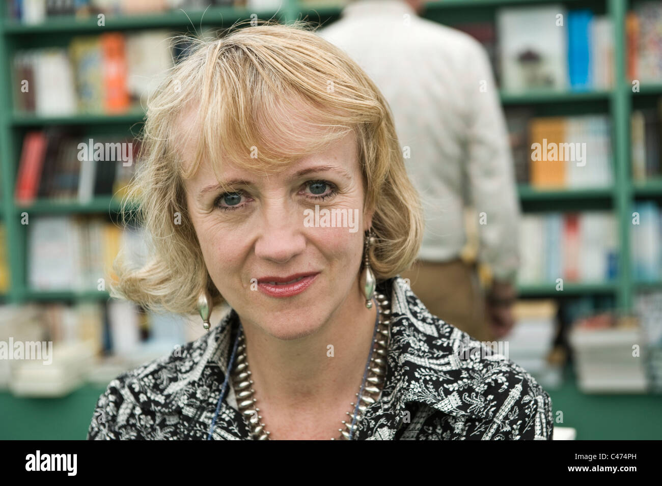 Virginia Nicholson author writer and social historian pictured at Hay Festival 2011 - Stock Image