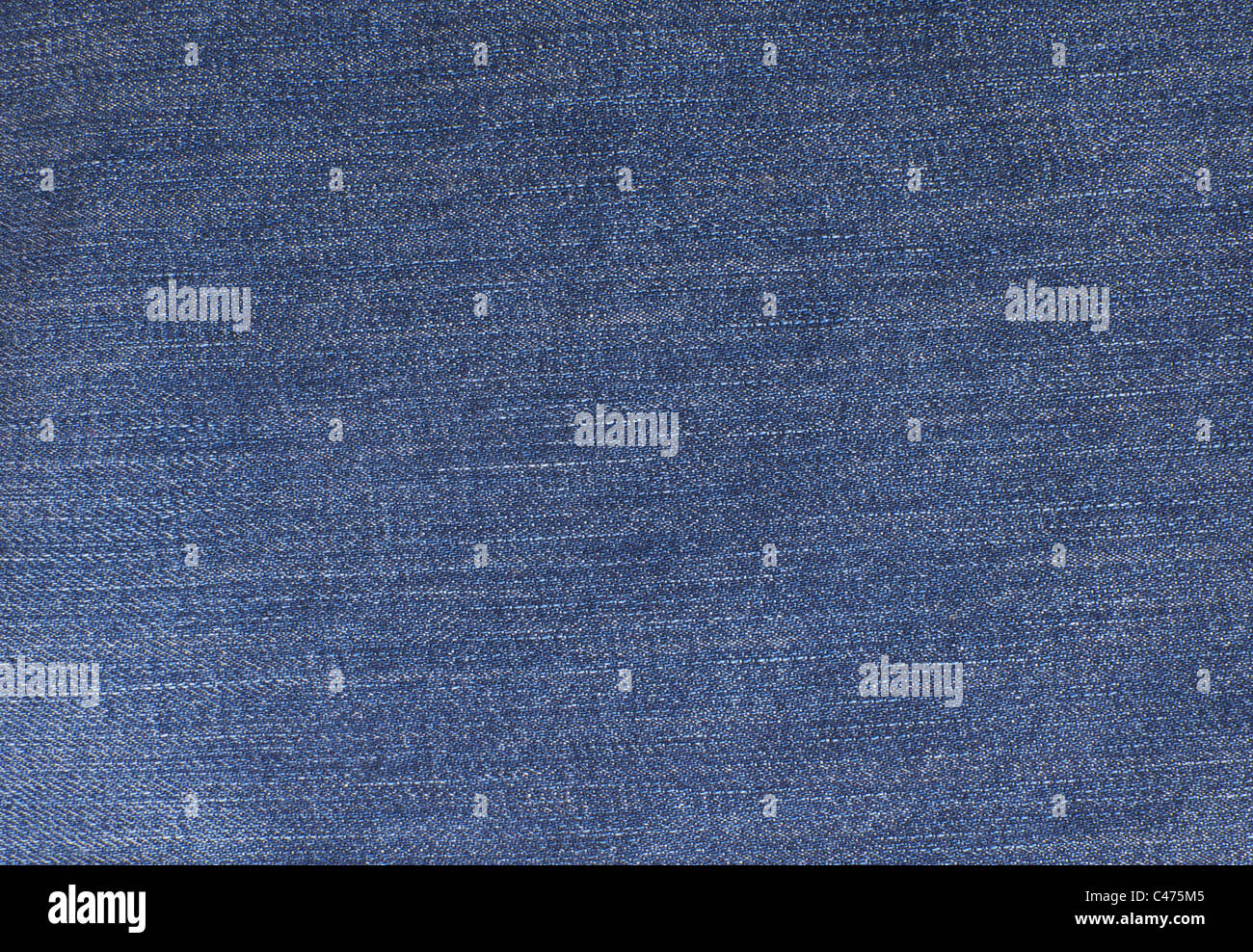 Blue jeans denim detailed background - Stock Image
