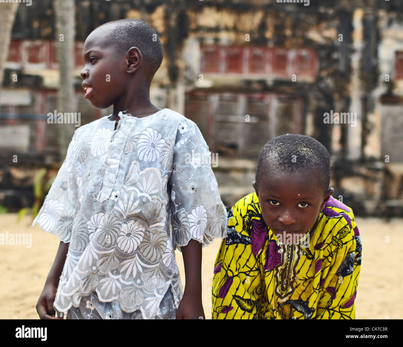 Ivory Coast portrait - Stock Image
