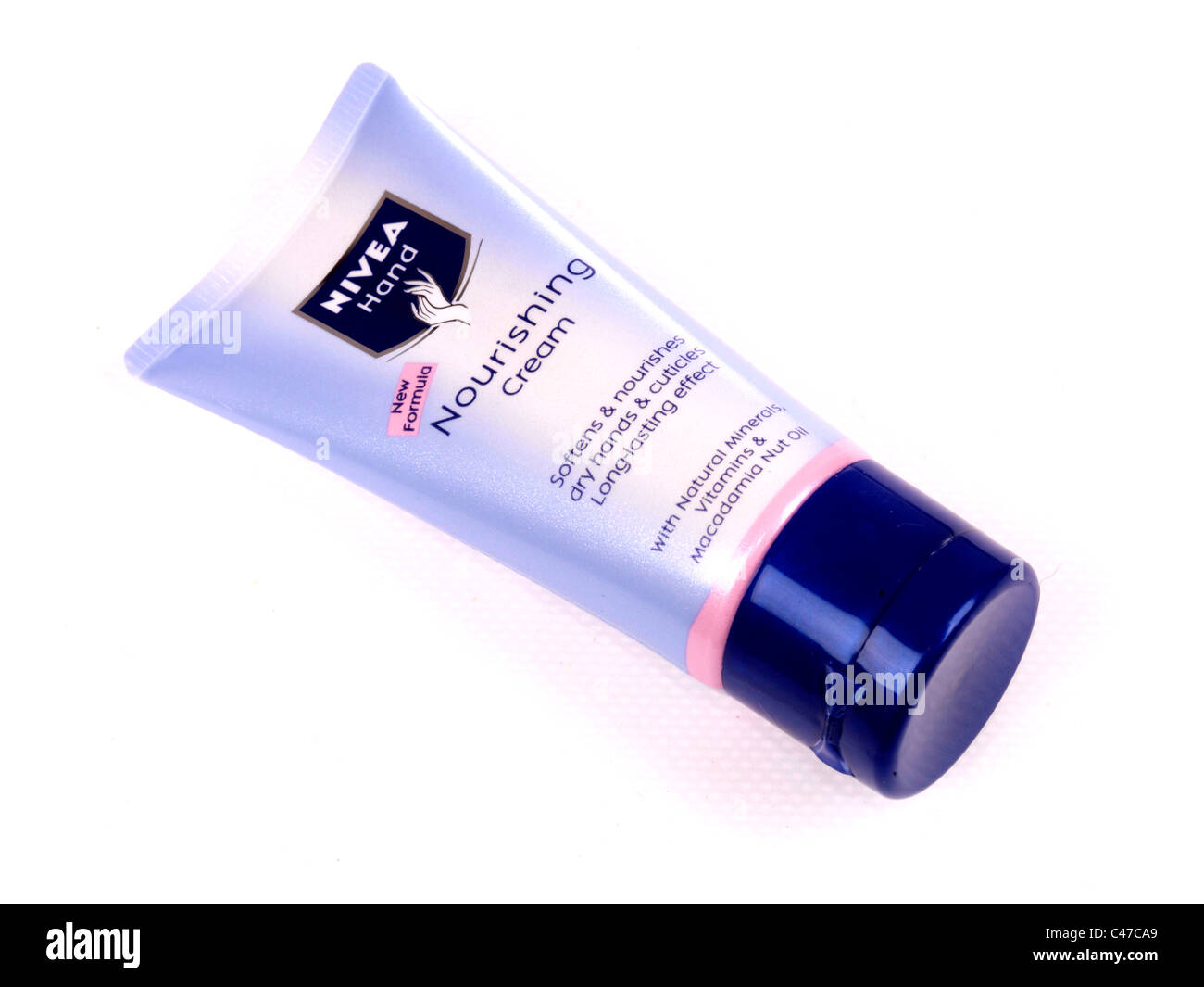 Nivea Nourishing Cream Stock Photo