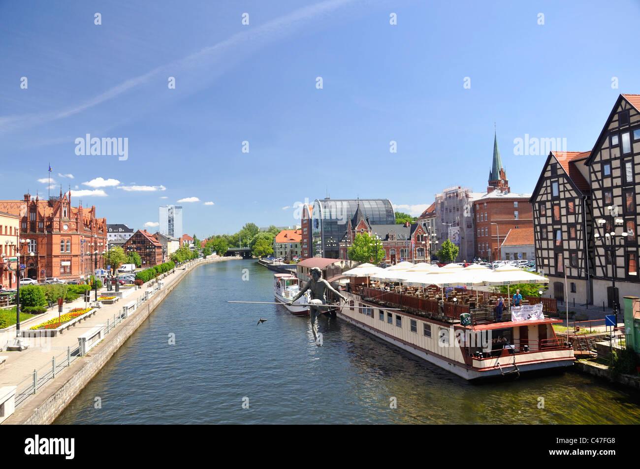 Bydgoszcz city in Poland Stock Photo