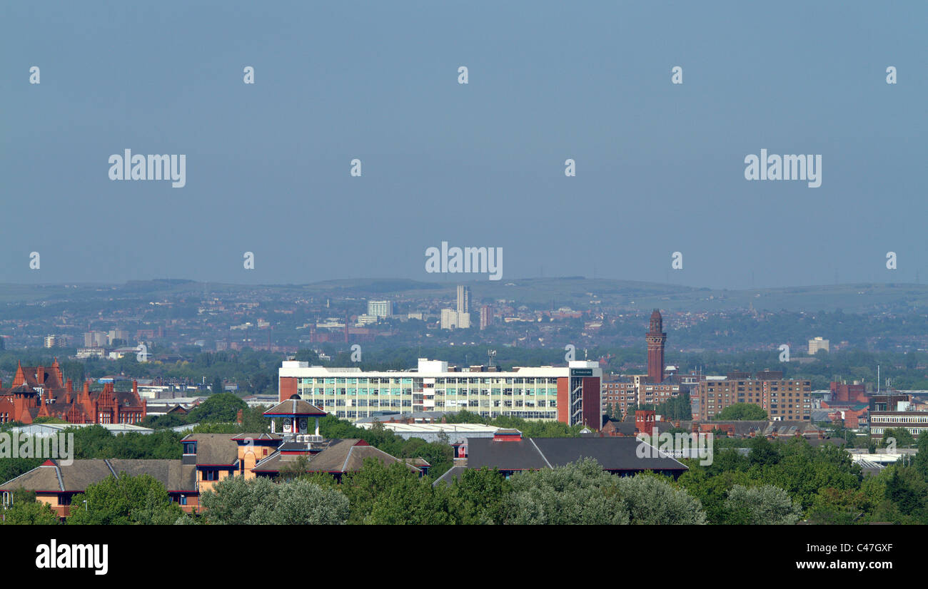 Manchester and Salford Quays - Stock Image