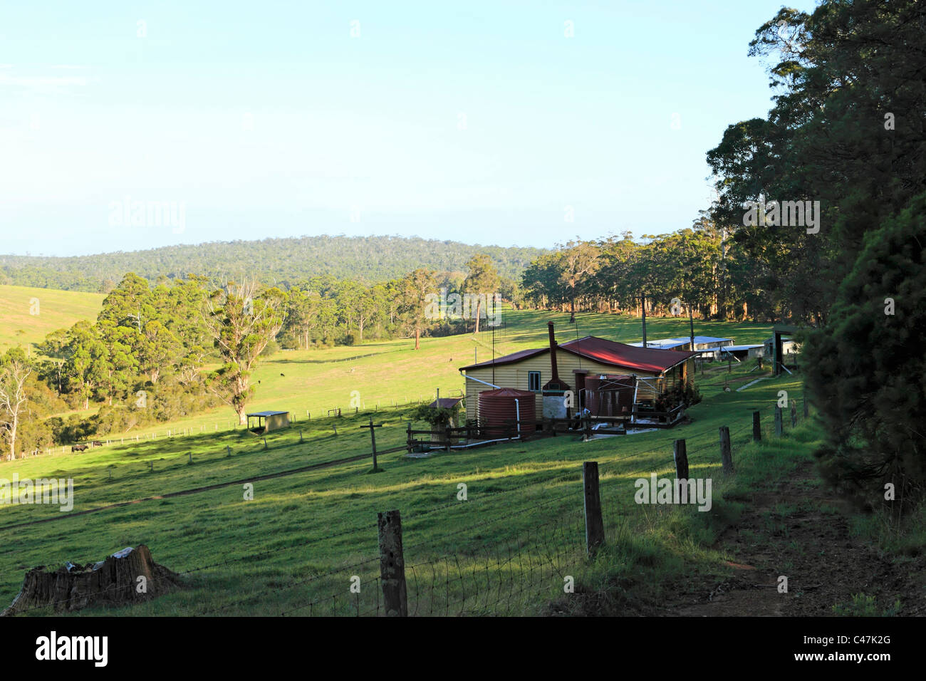 Australian Farmhouse High Resolution Stock Photography And Images Alamy