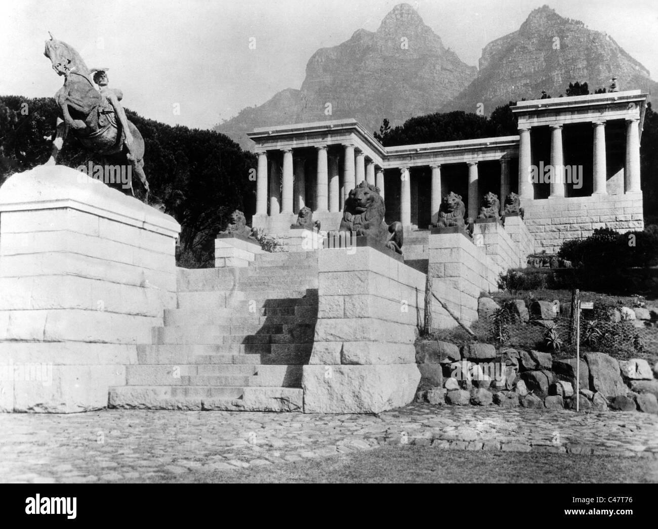 Cecil Rhodes, - Stock Image