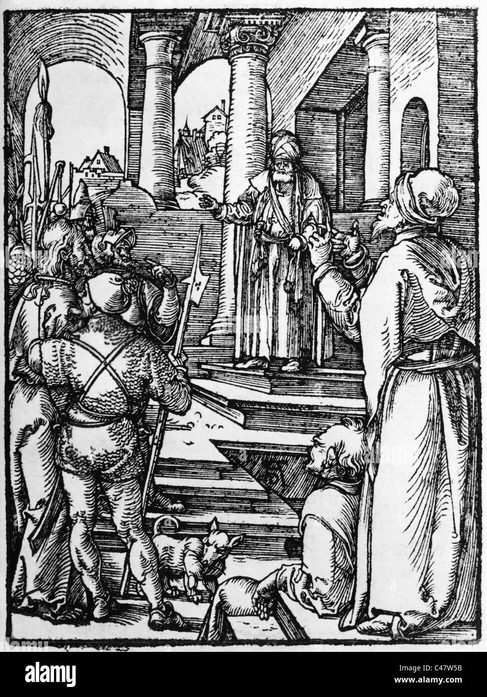 Pontius Pilatus, - Stock Image