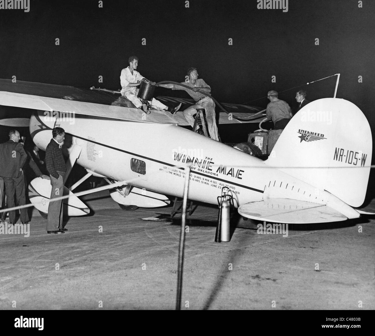Wiley Post Stock Photo: 37055071