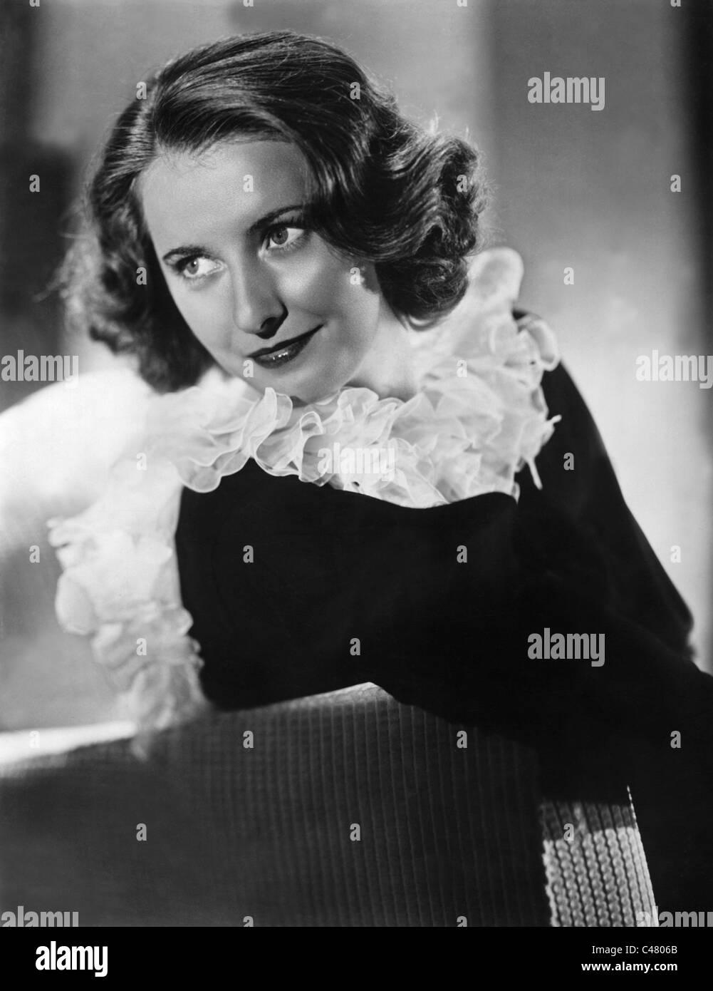 Barbara Stanwyck, - Stock Image