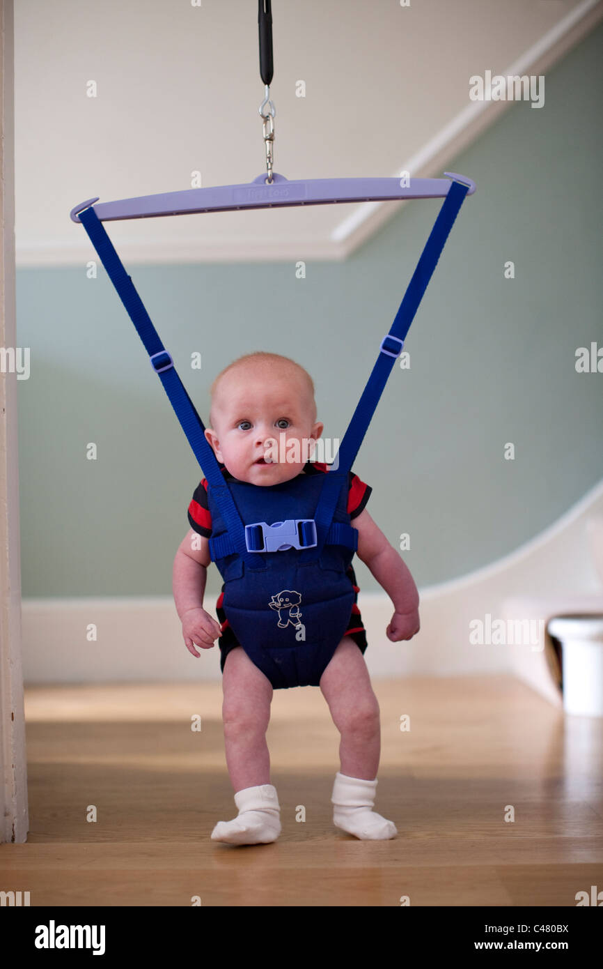 Baby door bouncer. PhotoJeff Gilbert  sc 1 st  Alamy & Baby door bouncer. Photo:Jeff Gilbert Stock Photo: 37055310 - Alamy
