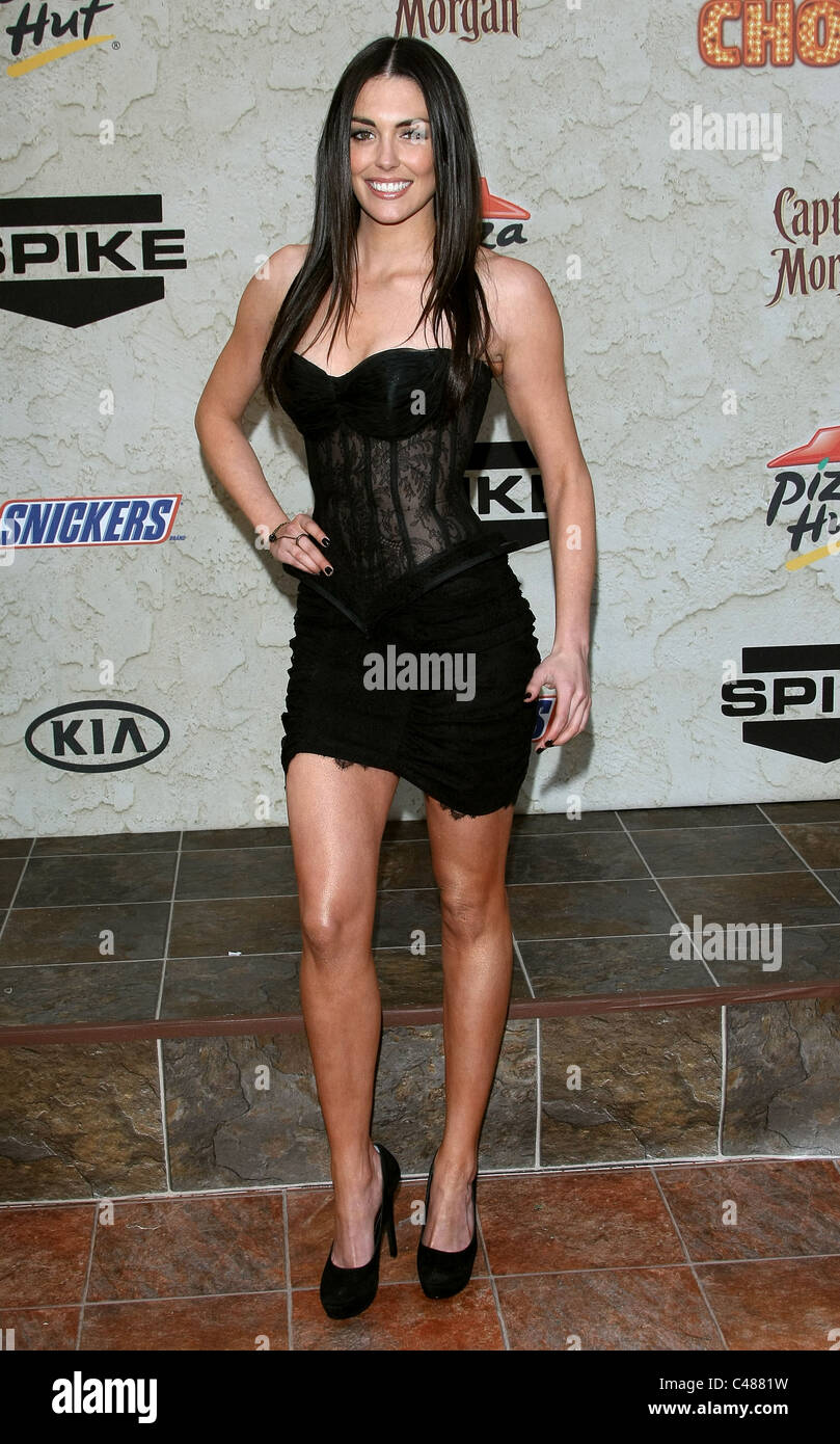 TAYLOR COLE SPIKE TV GUYS CHOICE AWARDS CENTURY CITY LOS