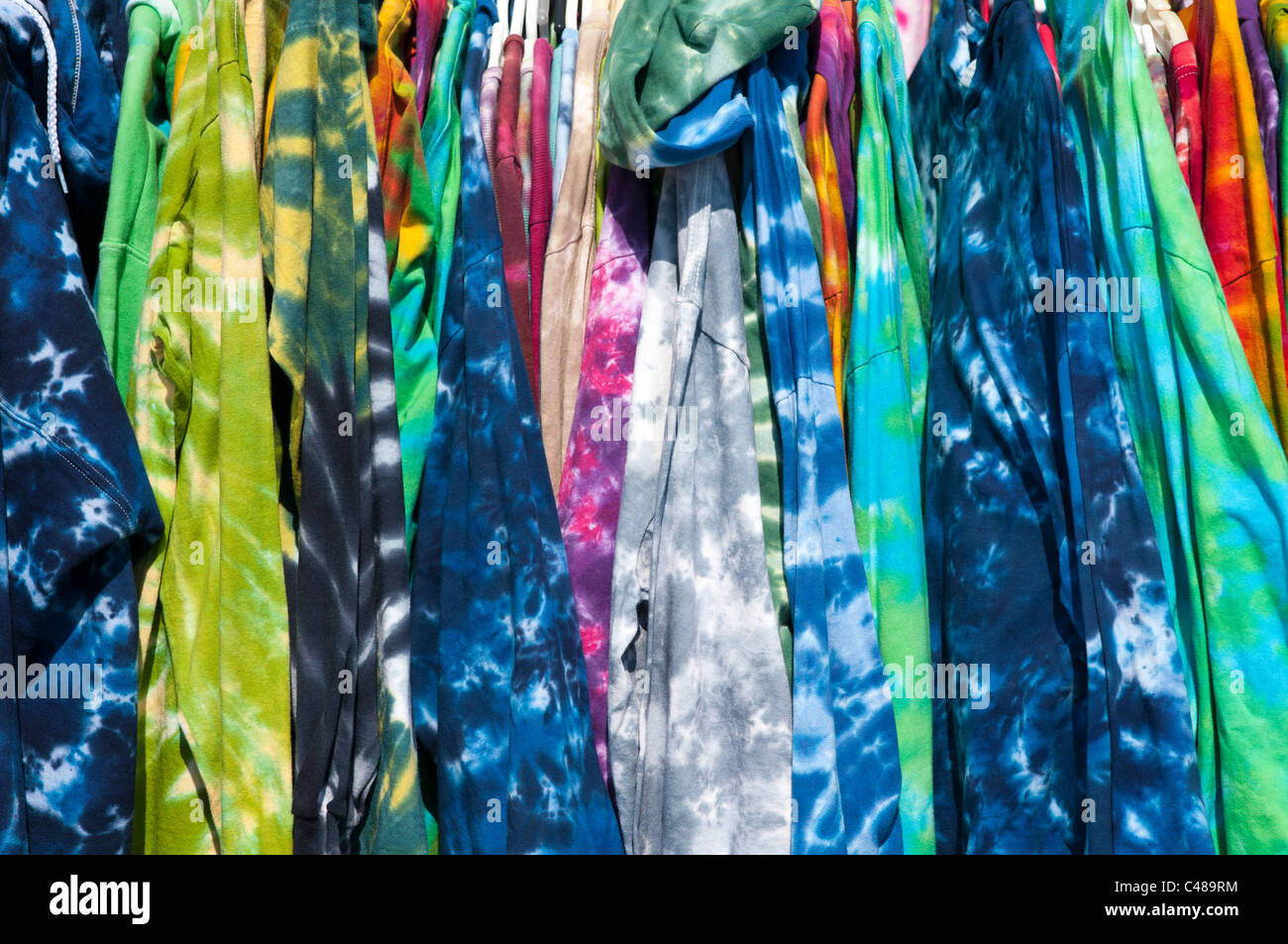 9f6b817f Tie Dye Clothing Stock Photos & Tie Dye Clothing Stock Images - Alamy