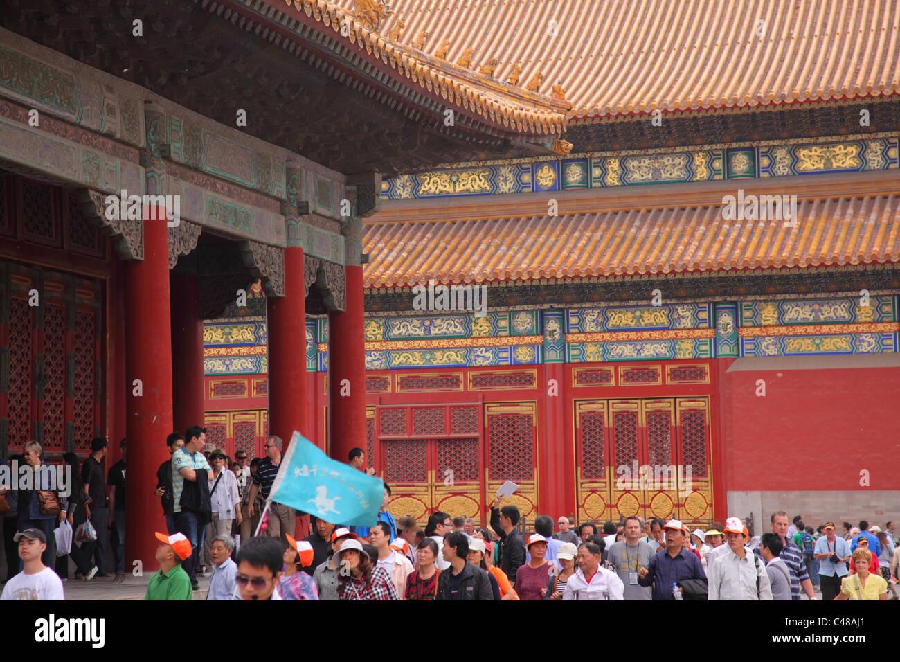 Forbidden City, Beijing, China - Stock Image