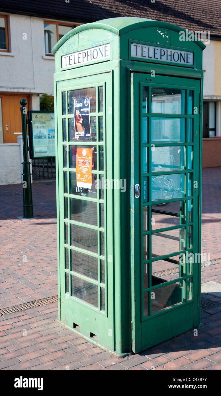 Irish Telephone Box Stock Photos & Irish Telephone Box Stock Images