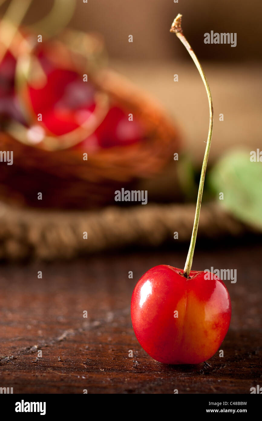 Standing Cherry - Stock Image