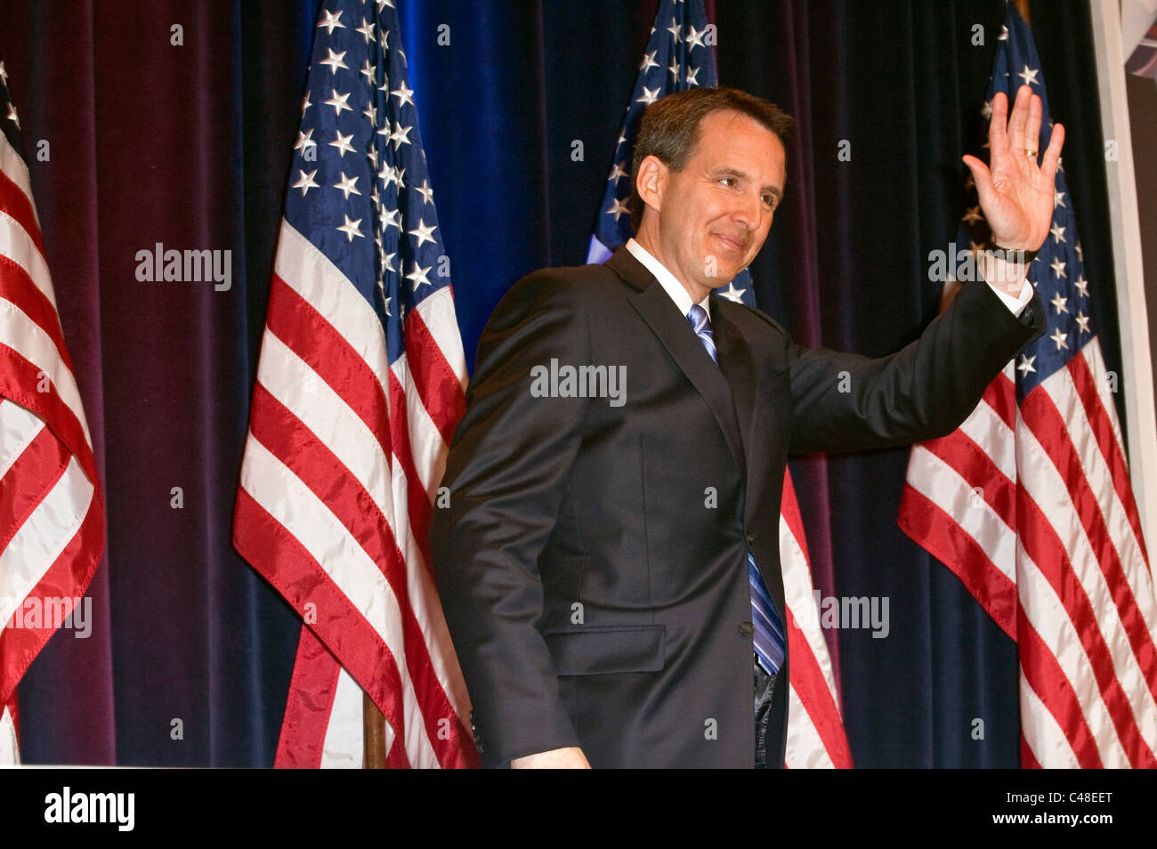 Tim Pawlenty at the Conservative Political Action Conference (CPAC) 2010 in Washington DC. - Stock Image