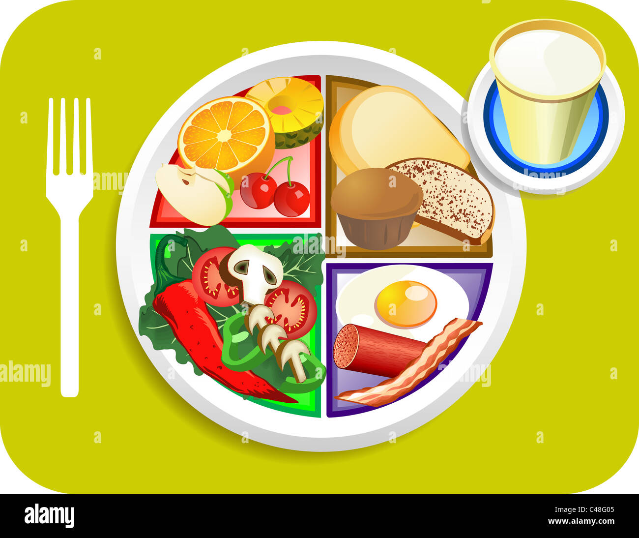 My Plate replaces food pyramid I have some labeled and some for breakfast lunch or dinner  sc 1 st  Alamy & My Plate replaces food pyramid I have some labeled and some for ...