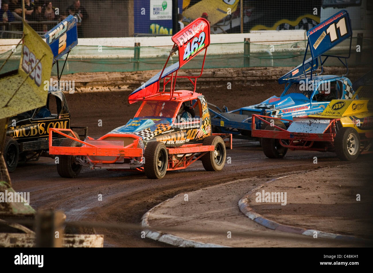 formula 0ne 1 f1 stock car cars stockcars stockcar shale track tracks race racing racers full contact motorsport - Stock Image
