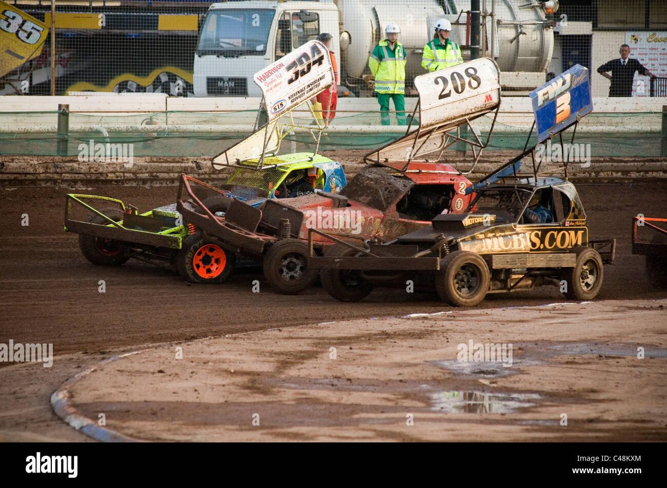 formula 0ne 1 f1 stock car cars stockcars stockcar shale track tracks race racing racers full contact motorsport - Stock Image