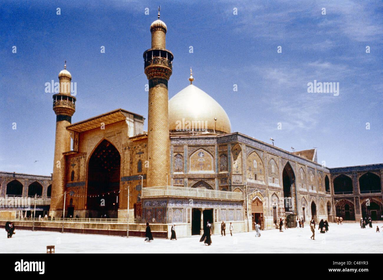 Maula Ali Shrine Wallpaper: Najaf Iraq Holy Shrine Of Iman Ali Ibn Abi Talib Shi'ite