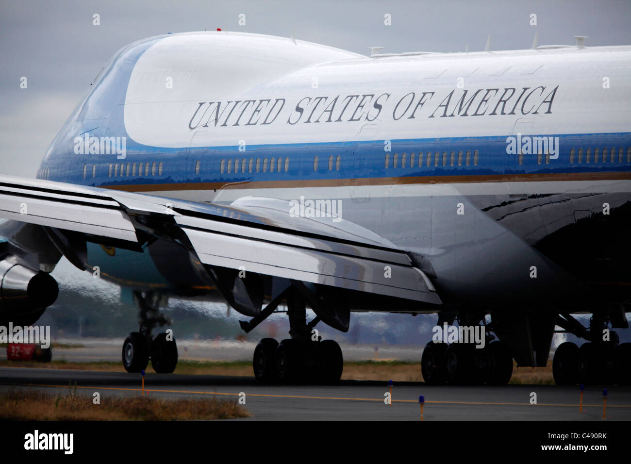 Air Force One - Stock Image