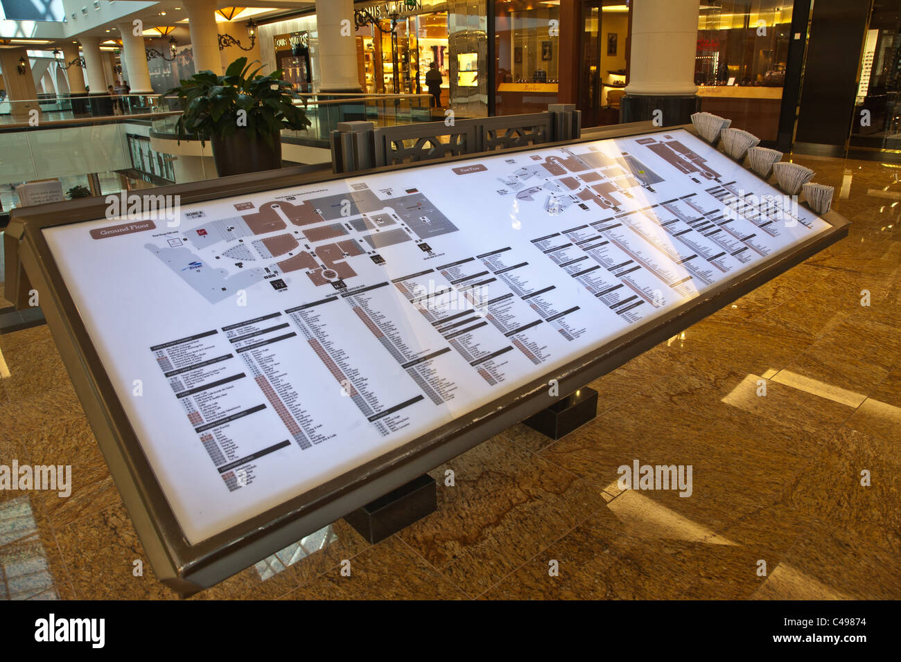 Mall Map Stock Photos & Mall Map Stock Images - Alamy