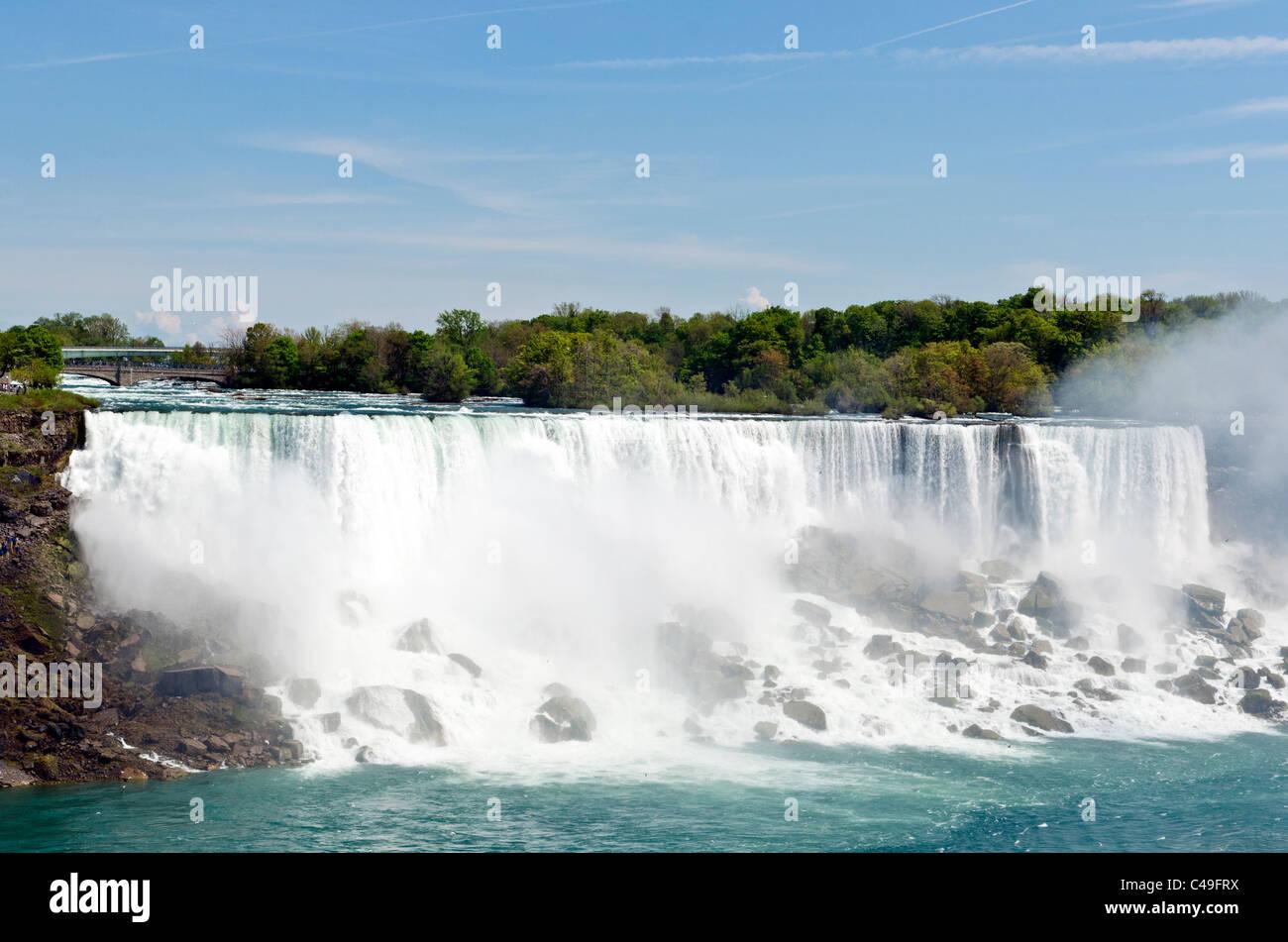 Niagara Falls View Of Us Side Ontario Canada Stock Photo Alamy