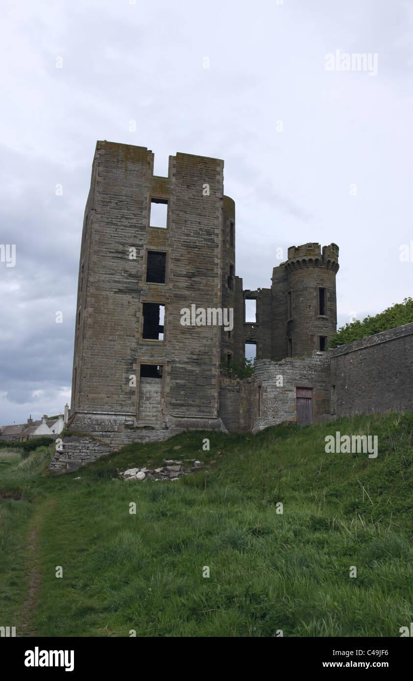 Thurso Castle Caithness Scotland May 2011 - Stock Image