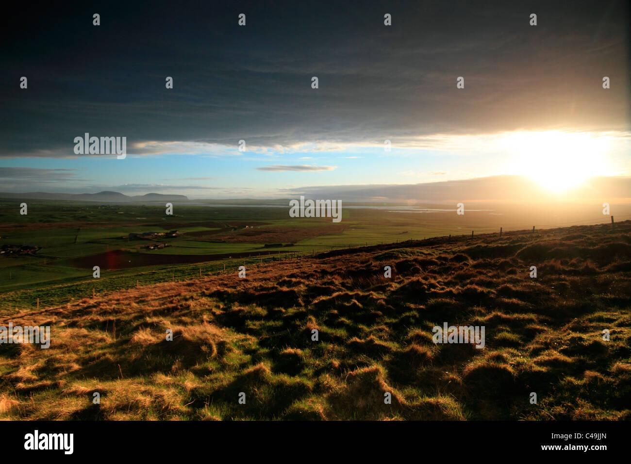 Orkney vista - Stock Image