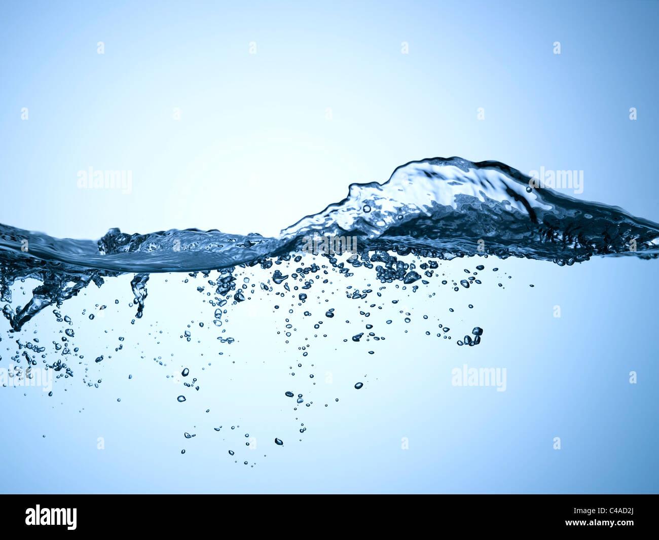 Water movement - Stock Image