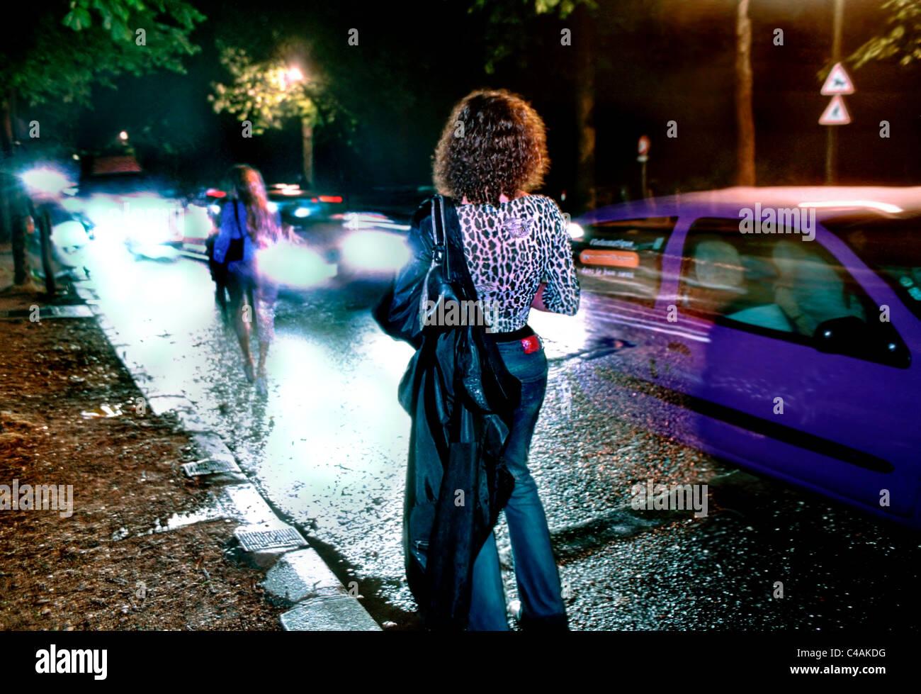 Prostitutes in Paris porn