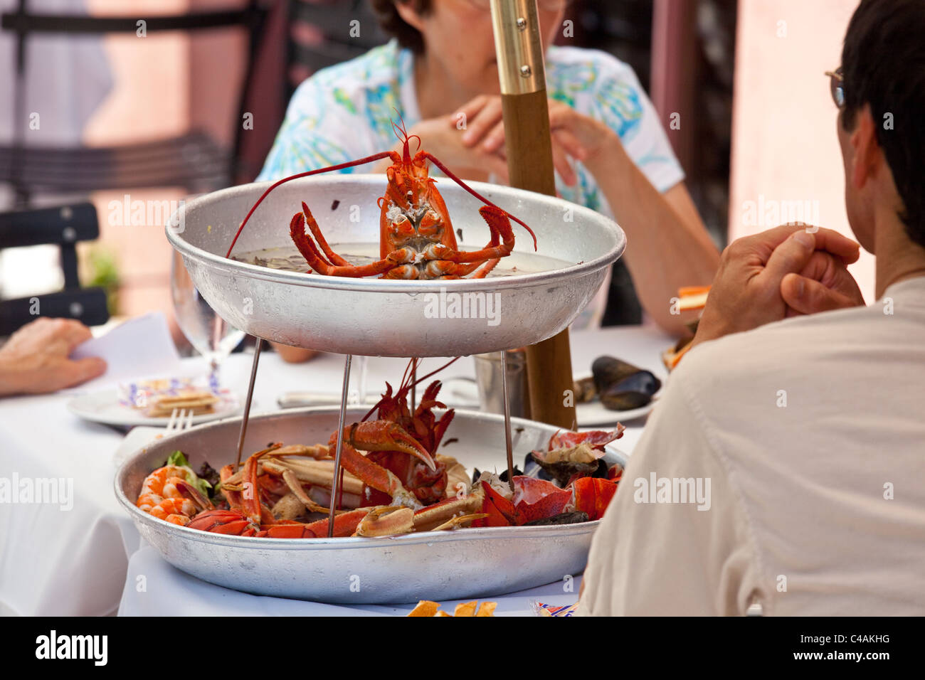 Seafood Restaurant Georgia Stock Photos & Seafood Restaurant