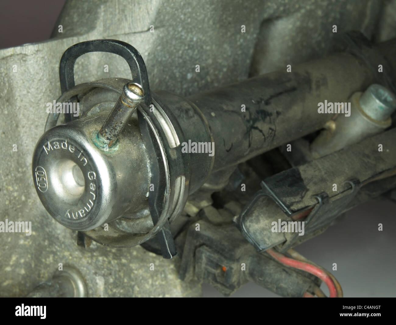 fuel pressure regulator - Stock Image