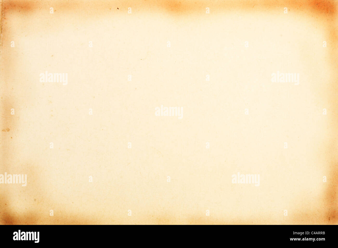 old paper as a background and texture - Stock Image