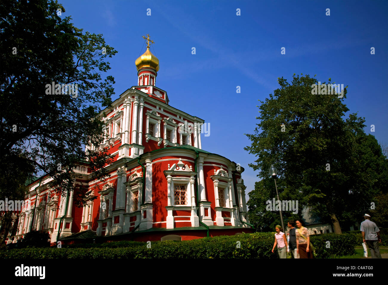 Russia, Moscow; Novodevichy Monastery Stock Photo