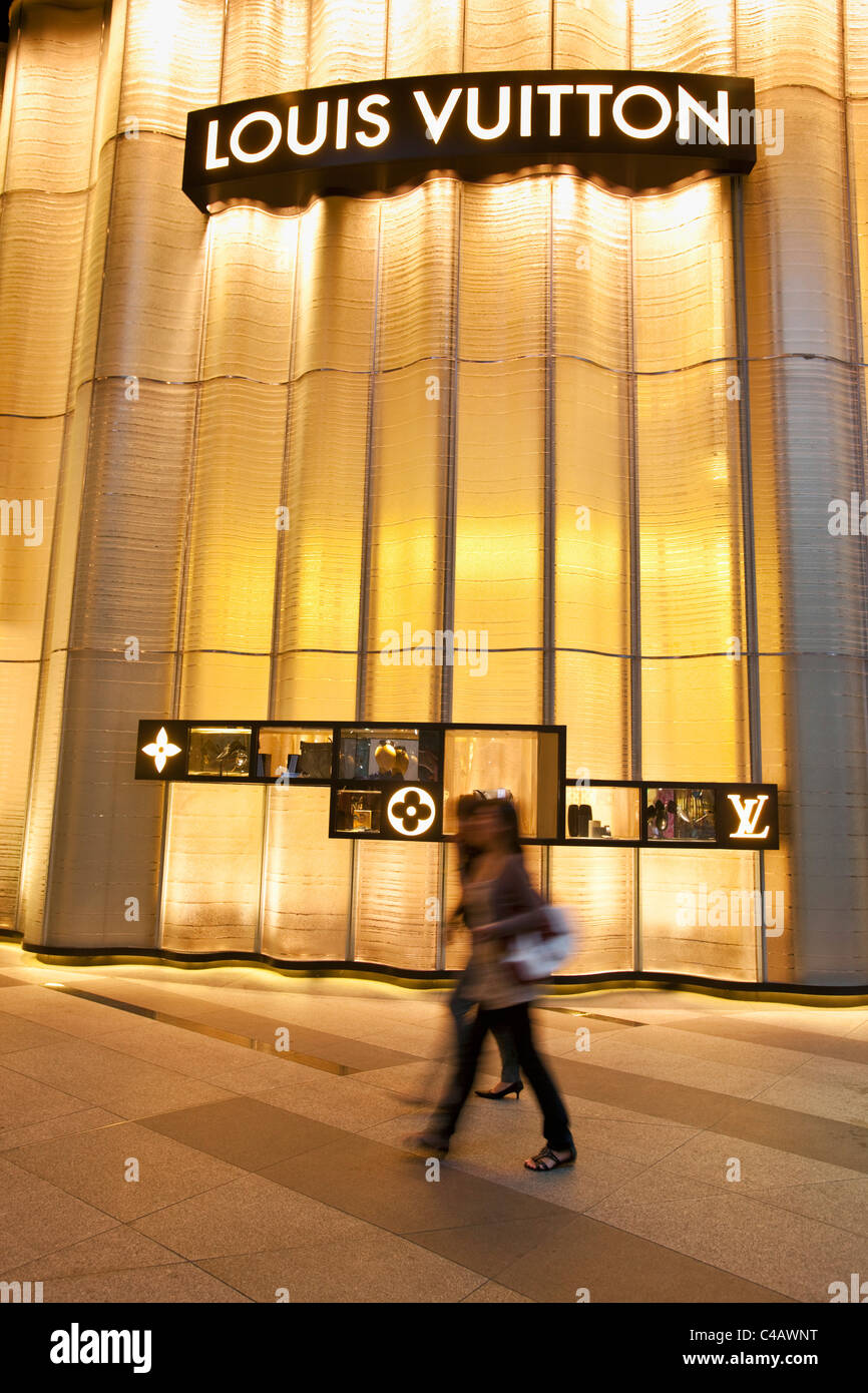 8eff479540 Singapore, Singapore, Orchard Road. Louis Vuitton store at the ION Orchard  Mall.