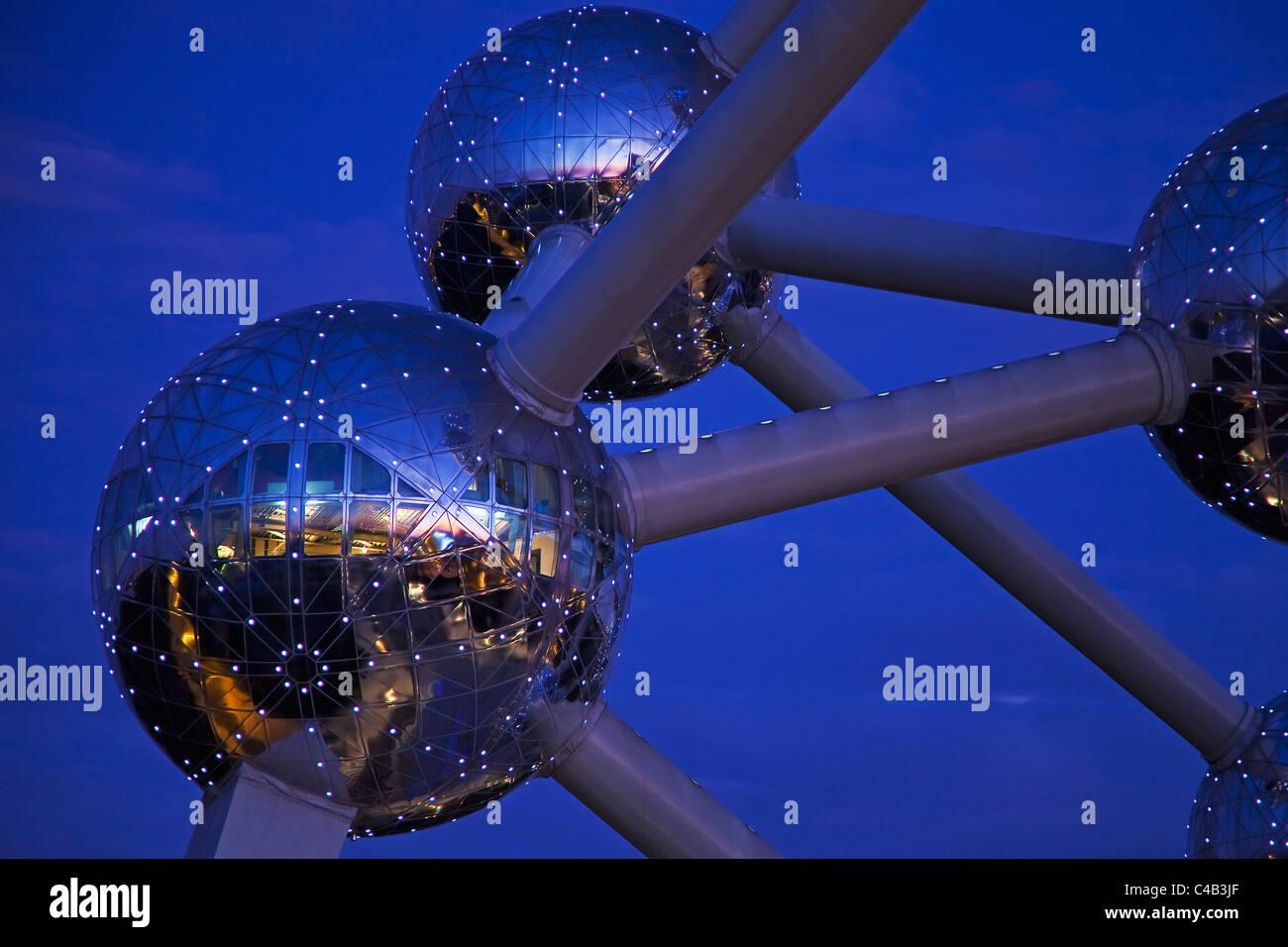 The Atomium,Grimbergen, Strombeek-Bever, Belgium - Stock Image