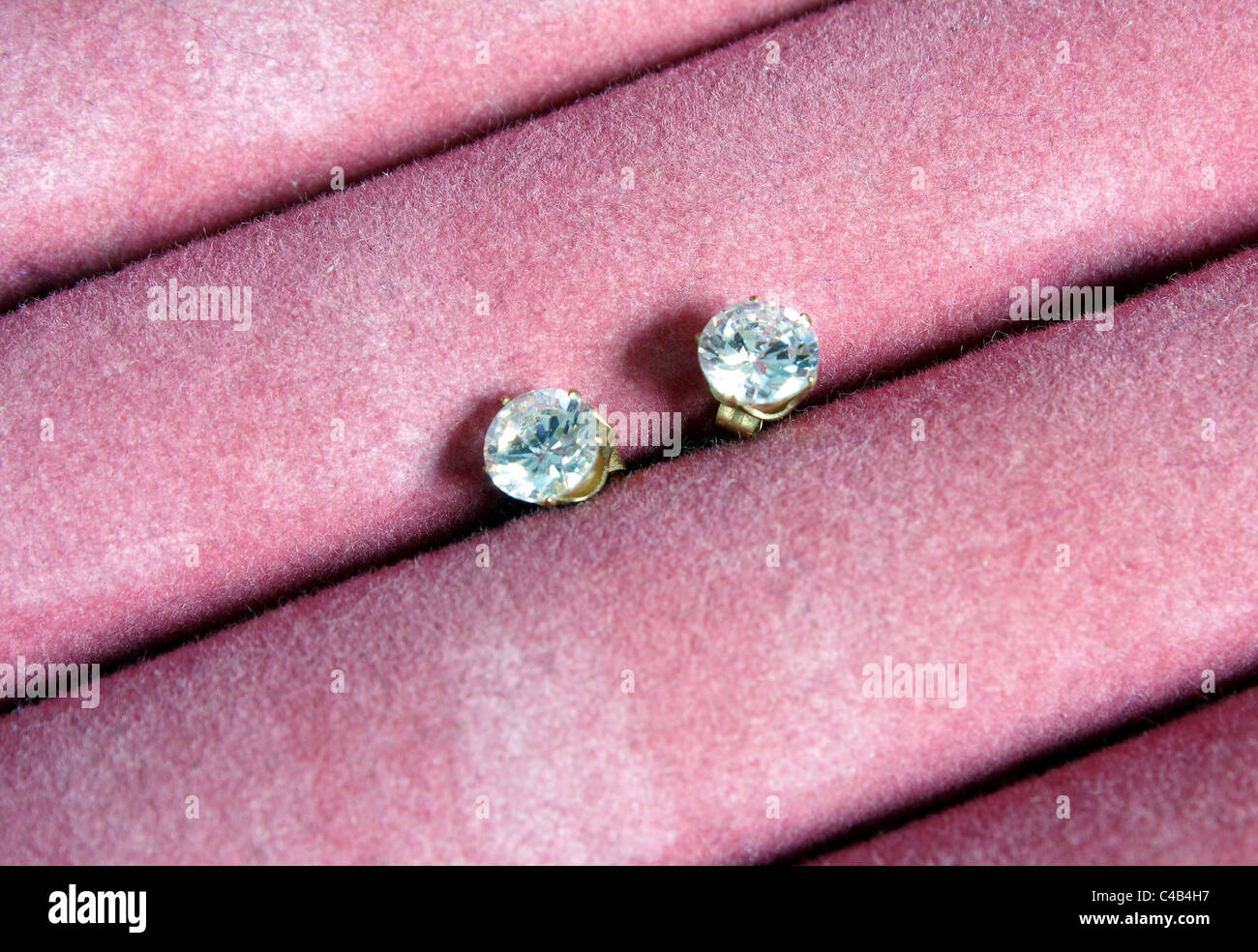 Stud Earrings Stock Photos & Stud Earrings Stock Images - Alamy