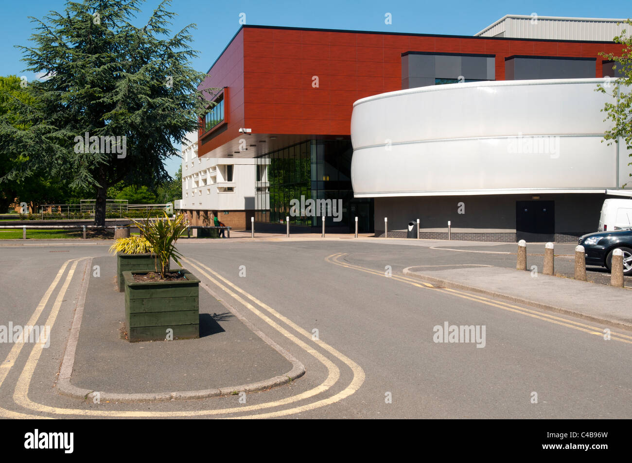 Lady Hale Building, Salford Law School, Salford University, Salford, Manchester, England, UK.  Architect: Broadway - Stock Image
