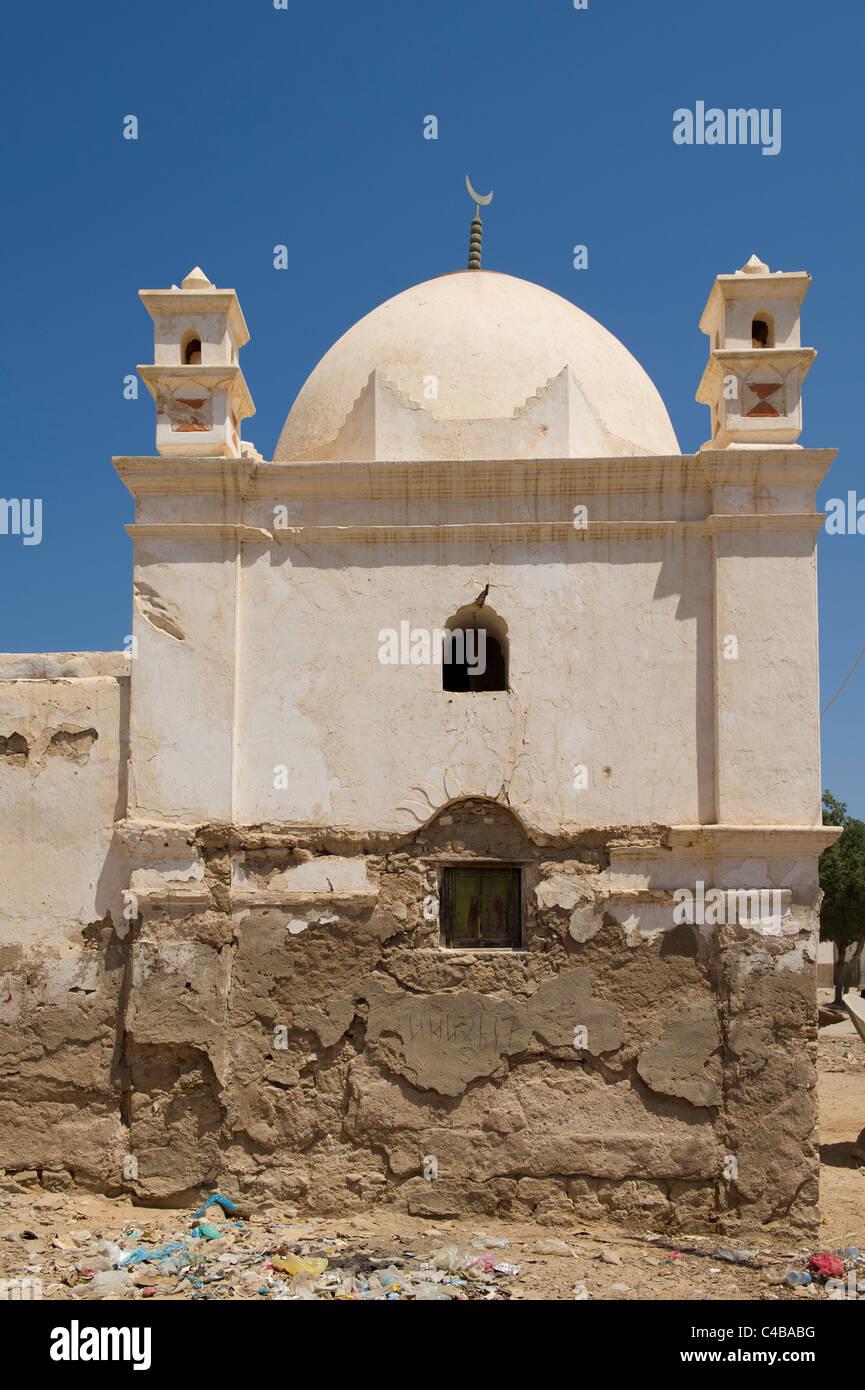 Ancient mosque, Berbera, Somaliland, Somalia - Stock Image