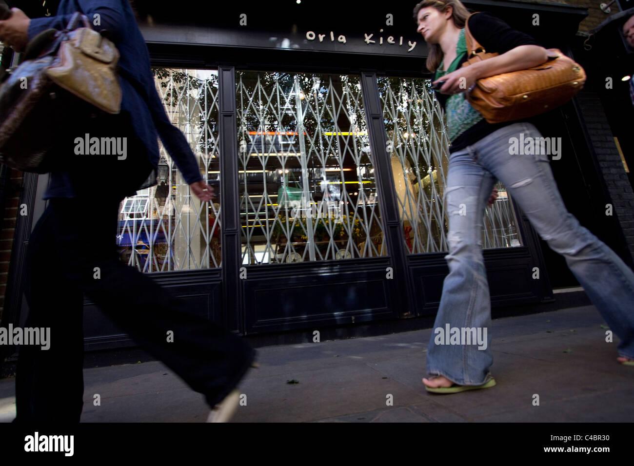 orla kiely retail outlet, London - Stock Image