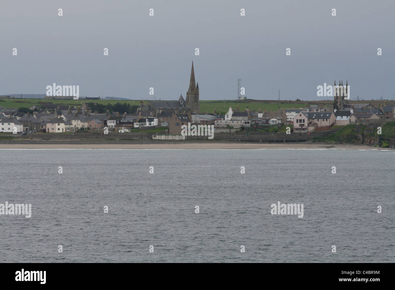 Thurso waterfront Caithness Scotland May 2011 - Stock Image